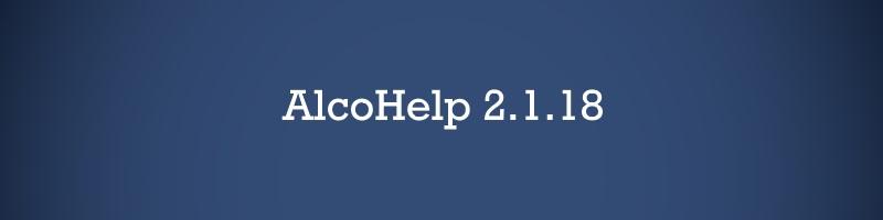 AlcoHelp 2.1.18