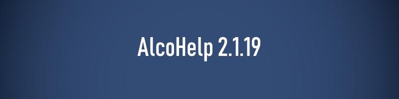 AlcoHelp 2.1.19