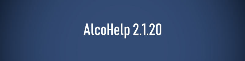 AlcoHelp 2.1.20
